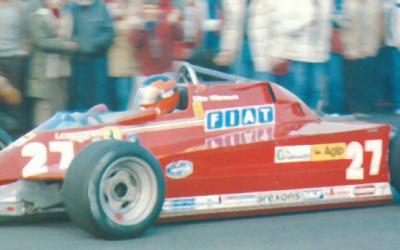 Ferrari 126 CK vs Starfighter
